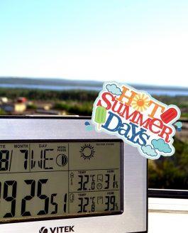 Жаркое северное лето!