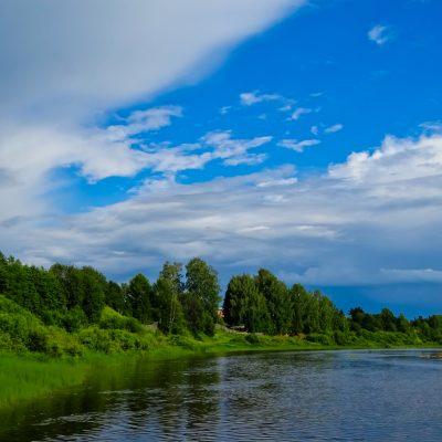 Река Юг в г.Никольске