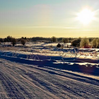 Морозная дорога